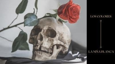 la niña blanca y la santa muerte